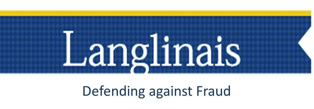 Langlinais: Defending against Fraud